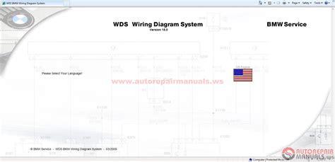 bmw wds v15 and wds v7 wiring diagram system auto