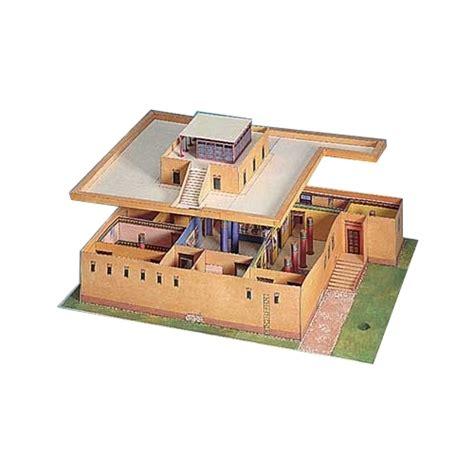 Ägyptisches Wohnhaus Bastelbogen