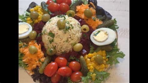 amour de cuisine de soulef salade composee au riz et thon pour menu ftour ramadan