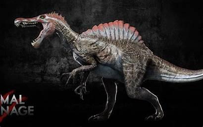 Spinosaurus Primal Carnage Rex Reskin Gandalf Cat