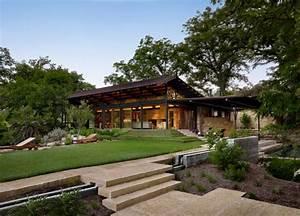 Beau ranch américain situé à Houston Texas Vivons maison