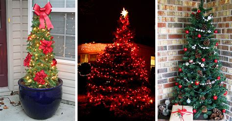 top christmas tree outside decoration 22 best outdoor tree decorations and designs for 2017