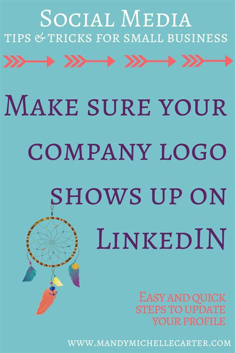 how to add company logo to linkedin profile for a more professional look