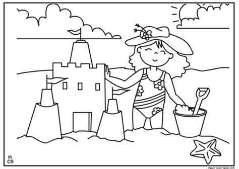 Summer Coloring Pages Free Online Kids  Coloring Pictures For The Summer