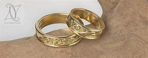 handmade gold om wedding rings With homemade wedding rings