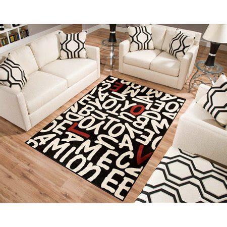 area rugs at walmart terra rectangle area rug black walmart