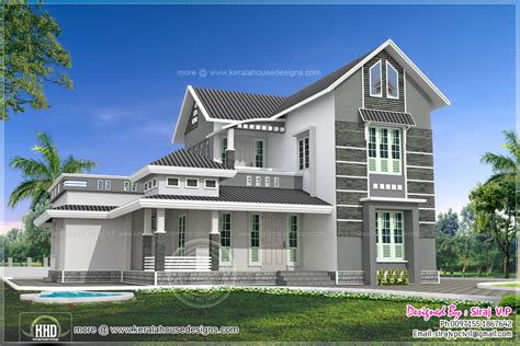 stunning house plan for 2000 sq ft beautiful 4 bedroom villa elevation in 2000 sq ft house