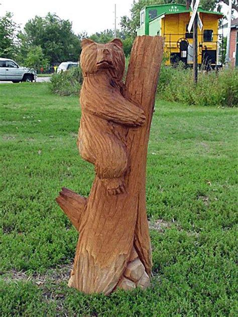 creative ideas  tree stumps garden pinterest