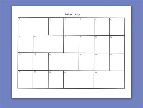 Window Calendar Template Costumepartyrun