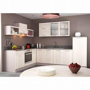 Meuble Laqué Beige : couleur meuble cuisine meuble cuisine laque cuisine ~ Premium-room.com Idées de Décoration