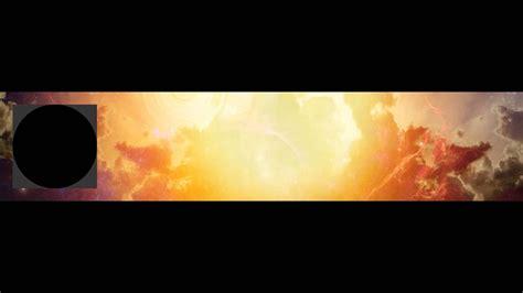 soundcloud banner  profile picture psd template