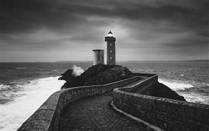 Lighthouse Wallpapers Background Desktop Stone Path Christmas