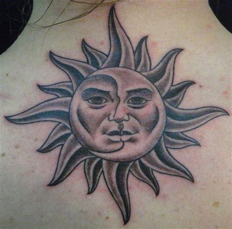 sun moon tattoo design  trust  inked pinterest