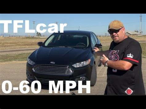 Ford Fusion 0 60 by 2015 Ford Fusion 1 5l Ecoboost 0 60 Mph Review Tiny But