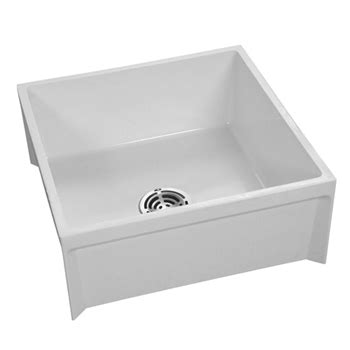 Fiat Sink by Fiat Msb2424 24 Quot X 24 Quot Molded Mop Basin White