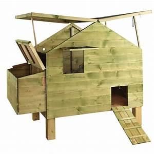 Construire poulailler 2 poules poulailler for Amenager jardin en pente 8 comment fabriquer un poulailler en bois pour le jardin