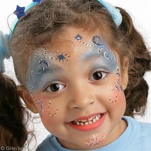 Maquillage Simple Enfant : maquillage enfant princesse d 39 hiver id es et conseils maquillage ~ Melissatoandfro.com Idées de Décoration