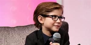 Jacob Tremblay Wears Glasses For Santa Barbara ...