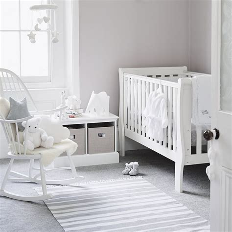 Baby Bedroom Design Ideas by Best 25 Grey White Nursery Ideas On White