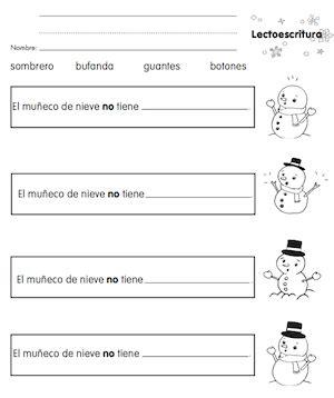 spanish winter vocabulary  monarca spanish playground