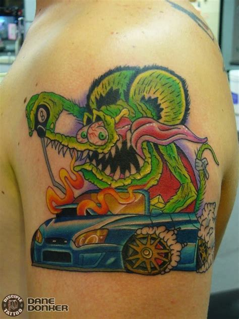 latest rat rod tattoos find rat rod tattoos