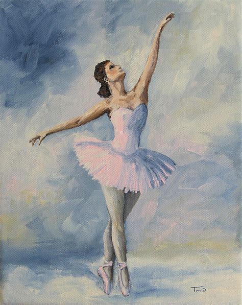 how to paint a l ballerina 001 painting by torrie smiley
