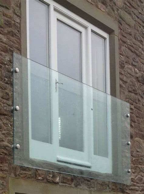 infinity glass juliet balconies  window glass