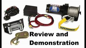 Review Superwinch Lt2000 Atv Winch Review