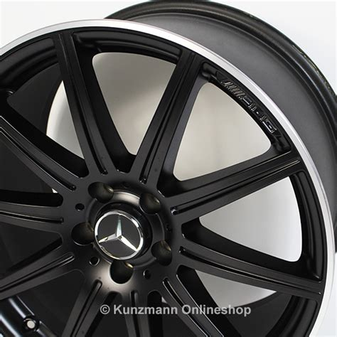 Here at wheelbase you can be sure to find the perfect alloy wheels for your mercedes e class. E 63 AMG 19-inch alloy wheel set   10-spoke alloy wheels   Mercedes-Benz E-Class W212   black matte
