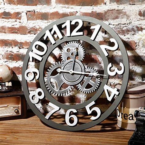 cuisine style shabby horloge de cuisine 20 jolis modèles pour une décoration