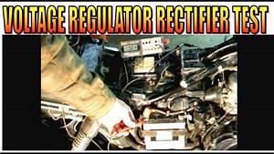 Motorcycle Voltage Regulator Charging And Rectifier Test