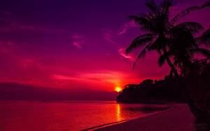 Thailand Beach Sunset HD Desktop Wallpaper | #Wallpapers ...