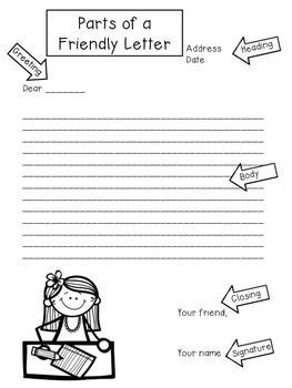 This FREE product includes an anchor chart labeling the