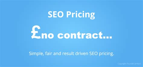 seo pricing seo pricing in the uk that delivers real seo results