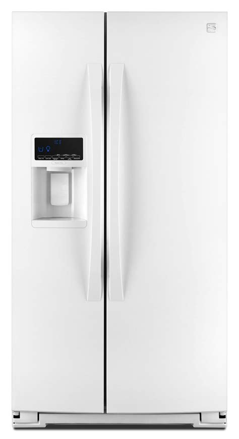 Counter Depth Refrigerator Dimensions Sears by Kenmore Elite 41162 24 5 Cu Ft Counter Depth Side By