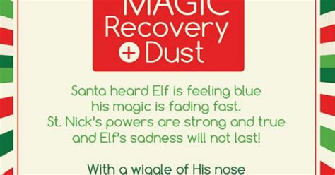 Elf On The Shelf Magic Recovery Dust Digital By
