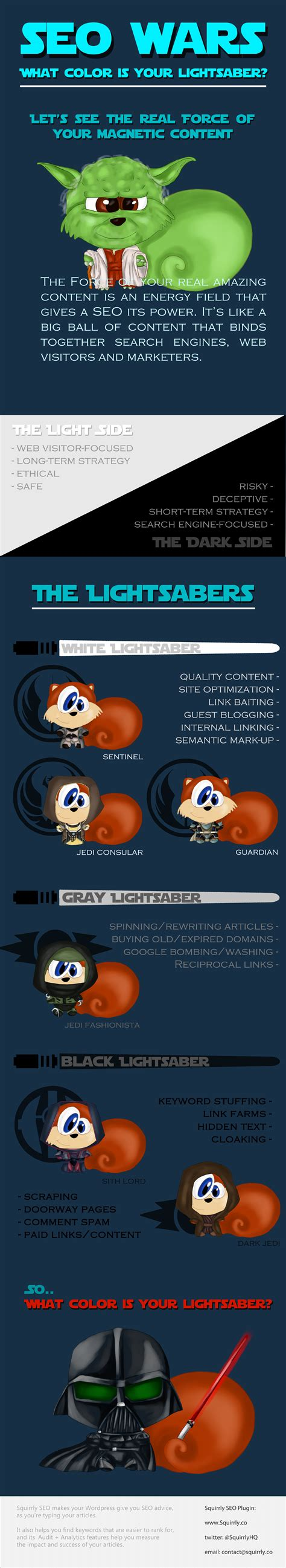 what color is your lightsaber seo wars what color is your lightsaber squirrly