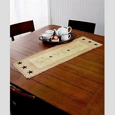 Decorative Burlap Country Kitchen Table Runner Rustic
