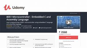 8051 Microcontroller Programming Using Embedded C And