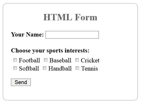 html and php multiple checkboxes form handling using