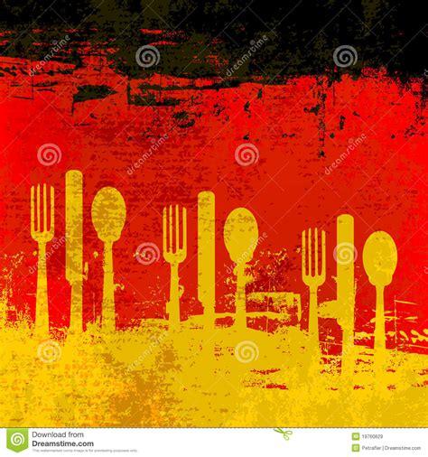 german menu template royalty  stock images image