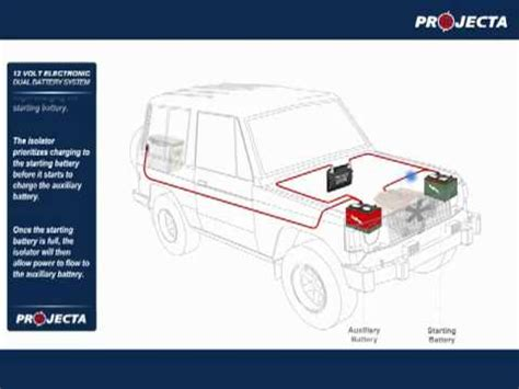 dual battery systems autos 4wd