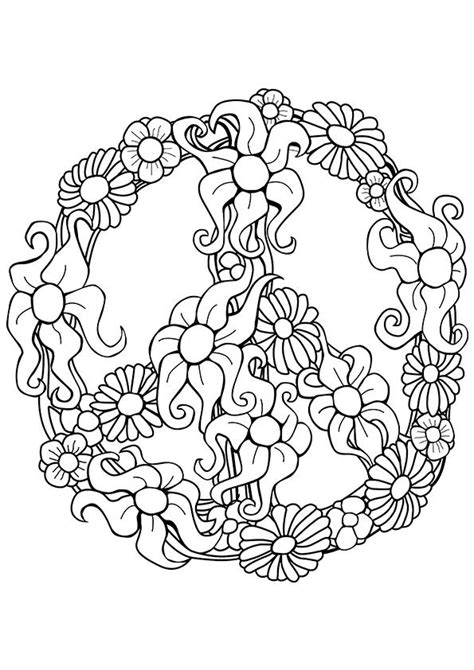Peace Coloring Pages - Best Coloring Pages For Kids