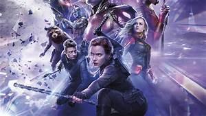 7680x4320, Black, Widow, Avengers, Endgame, Official, Poster, 8k