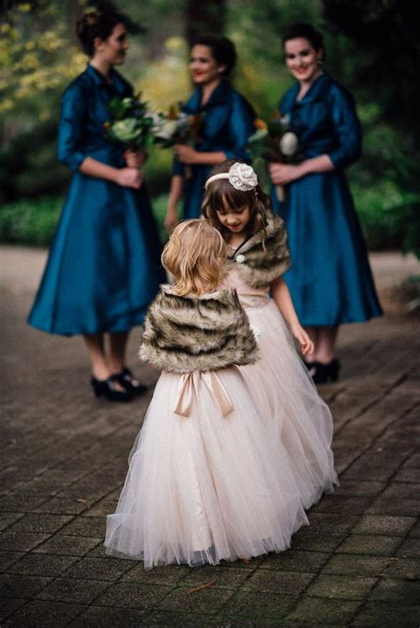 winter flower girl ideas  pinterest