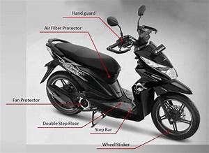 Harga Aksesoris Honda Beat Street Esp Resmi Untuk
