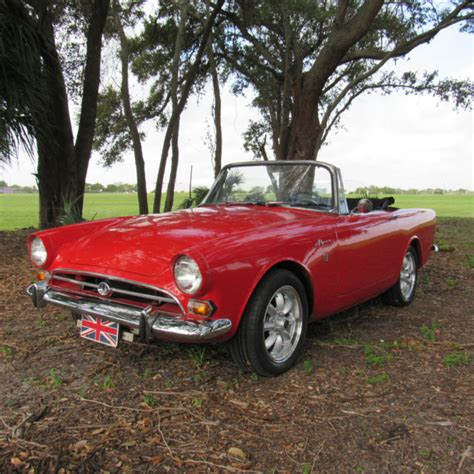 Other Makes Sunbeam Convertible 1967 Red For Sale. Very