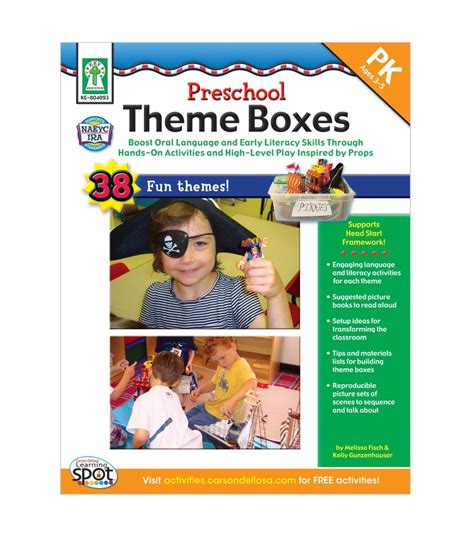 preschool theme boxes resource book grade preschool pk 648 | 804093