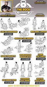 The Rock Legs Workout: Get A Huge Lower Body   Pop Workouts