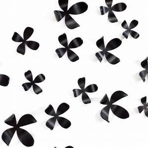 Deco Murale Metal Fleur : d coration murale fleurs umbra noires deco et ~ Teatrodelosmanantiales.com Idées de Décoration
